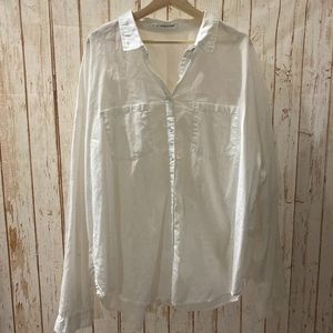 ⚡ 3/$15 Maurices White Button Down Top